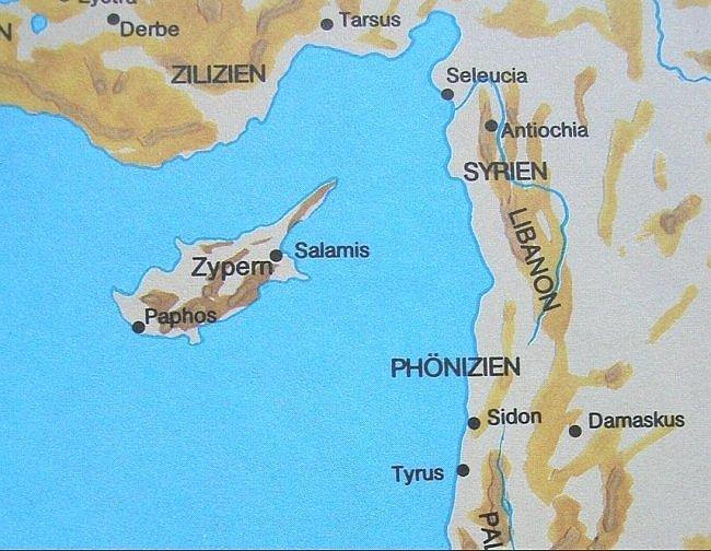 nahen osten landkarte