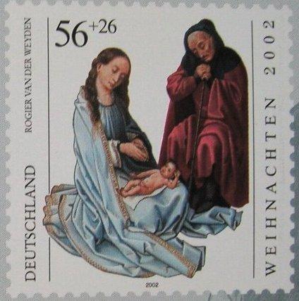 Weihnachtsbriefmarke 2002