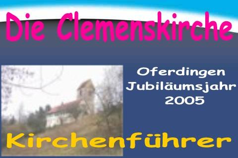Kirchenführer - Clemenskirche Oferdingen